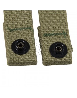Straps, Canvas, 2nd type, parachutist helmet