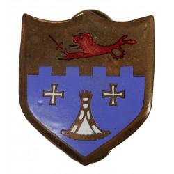 Distinctive Insignia, 12th Inf. Rgt., 4th ID, clutch