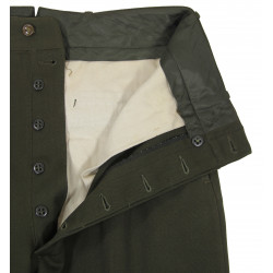 Trousers, Wool elastique, Drab, Officer's, Chocolate, 1944