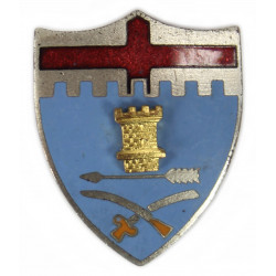 Crest, 11th Inf. Rgt., 5th Infantry Division, N. S. Meyer, New York