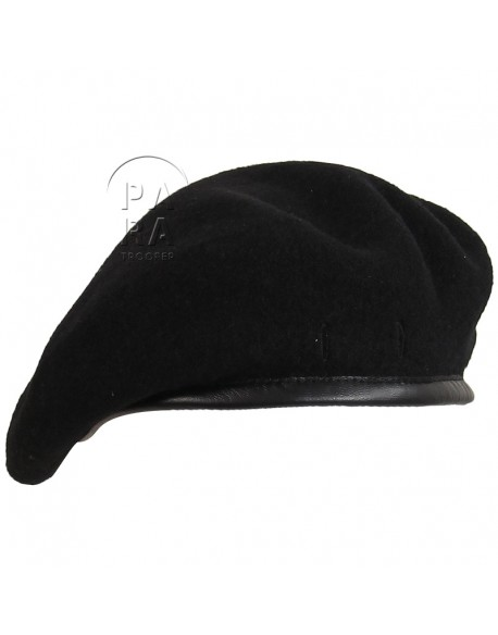 Beret, black, SAS or tank crew