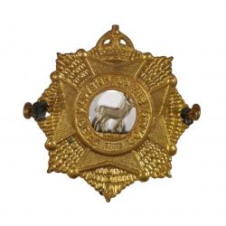 Badge, Cap, Queen's Own Cameron Highlanders of Canada, Dieppe, Normandy