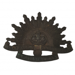 Cap Badge, Australian Commonwealth Military Forces, WWI