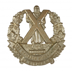Badge, Cap, The Cameron Highlanders of Ottawa (MG), Normandie