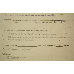 Special Orders, Restricted, Camp Lucky Strike, Normandy