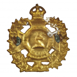 Badge, Cap, The Westminster Regiment, Italy & Holland, W. Scully Ltd., Montreal