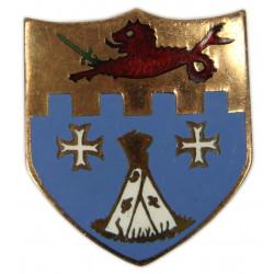 Distinctive Insignia, 12th Inf. Rgt., 4th ID, SB
