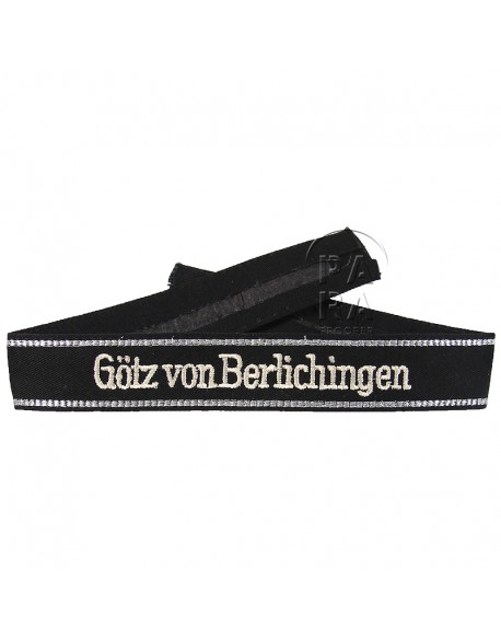 Cuff Tittle, Götz Von Berlichingen, embroidered