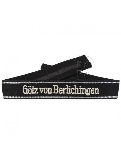 Cuff Tittle, Götz Von Berlichingen, embroidered