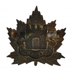 Badge, Cap, The South Alberta Regiment, Normandy, W. Scully Ltd., Montreal