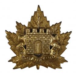 Cap Badge, The South Alberta Regiment, Normandie, W. Scully Ltd., Montréal