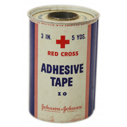 Adhesive tape, Medical, American Red Cross, Johnson & johnson