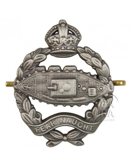 Cap Badge, Royal Tank Regiment