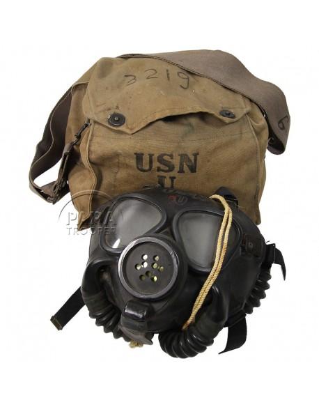 Masque anti-gaz US Navy, Mark IV, 1944
