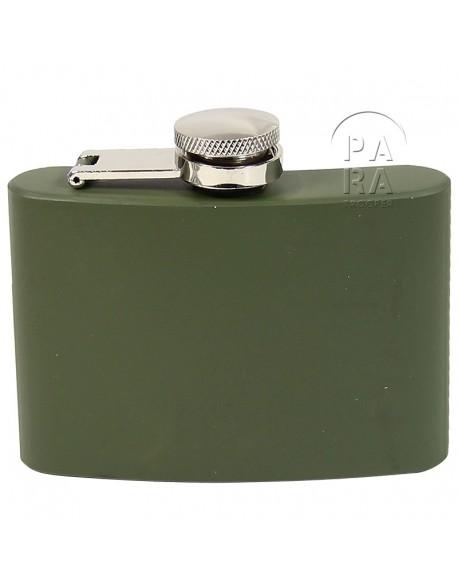 Flask, Khaki, 4 Oz.