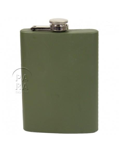Flask, Khaki, 8 Oz.