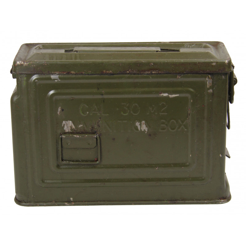 Case, Tin, Ammunition, Cal .30, Reeves
