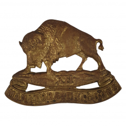 Cap Badge, XII Manitoba Dragoons, Normandie