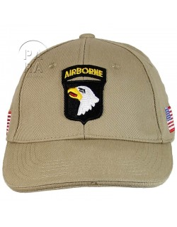 Cap, Baseball, 101st Airborne, Sand color