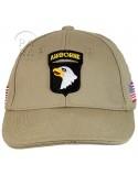 Casquette 101e Airborne, beige