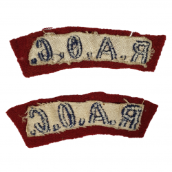 Shoulder Titles, Royal Army Ordnance Corps, Printed