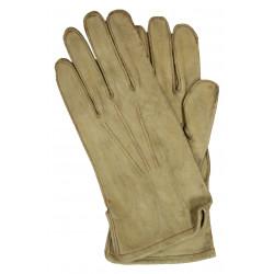 Gloves, Parachutist, Leather, Large