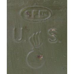 Case, Tin, Ammunition, Cal .30, S. F. LTD