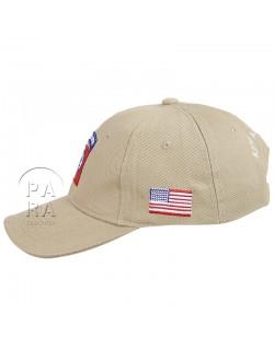 Cap, Baseball, 82nd Airborne, sand