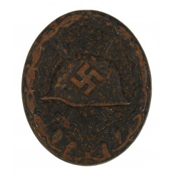 Badge, Wound, Black, Normandy