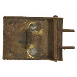 Buckle, Belt, SA, Brass, Early type