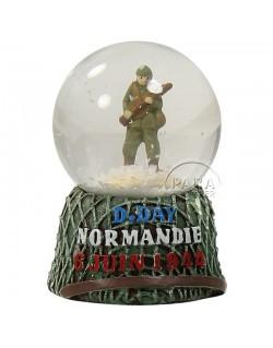 Boule à neige, casque, petit modèle