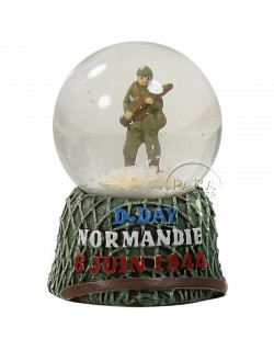 Snow globe, helmet, small