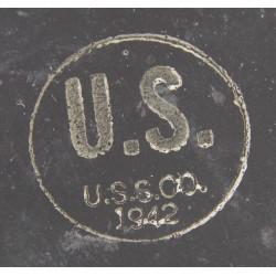 Canteen, Enameled metal, US, 1942