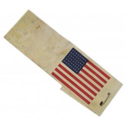 Armband identification oil cloth flag