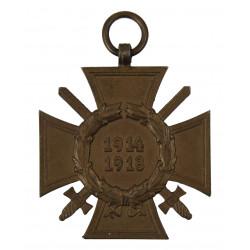 Croix d'honneur allemande de la guerre 1914-1918
