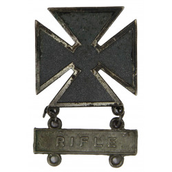 Badge, Marksman, Sterling, Rifle