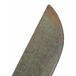 Machete, M-1942, canvas scabbard, 1944-1945
