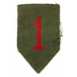 Patch, 1st Infantry Division