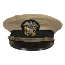 Cap, Officer, US Navy, Chino