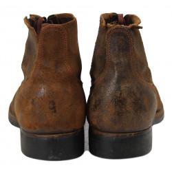 Shoes, Combat, Roughout