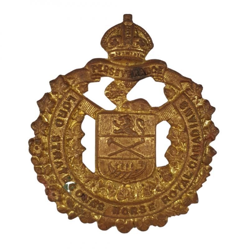Badge, Cap, Lord Strathcona's Horse (Royal Canadians), Italy & Holland