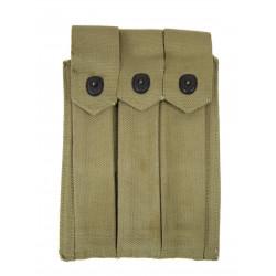 Pocket ammunition Thompson, 3 mags, USMC, 1944
