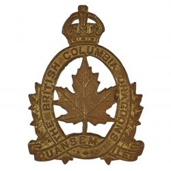 Cap Badge, The British Columbia Dragoons, Italie