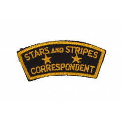 Patch, Stars and Stripes Correspondent, Twill