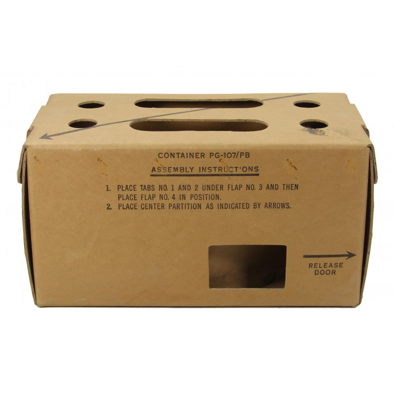 Container, Pigeons, US Army PG-107/PG