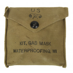 Kit Gas Mask, Waterproofing, M1