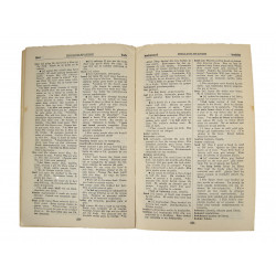 Technical Manual TM 30-900, Dictionnary of Spoken Spanish
