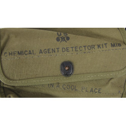Case, Chemical agent detector kit M18