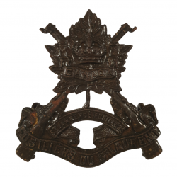 Cap Badge, Les Voltigeurs de Québec, W. Scully Ltd., Montréal