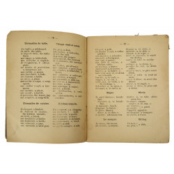 Booklet, FRENCH... My Second language, 1943